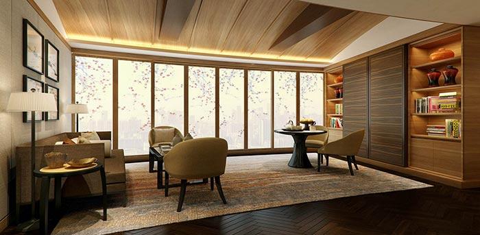 北京佳兆业广场北楼丽思公寓设计项目