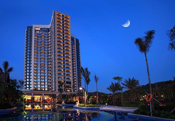 三亚凤凰水城凯莱度假酒店设计整体