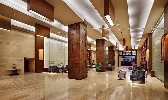 三亚凤凰水城凯莱度假酒店设计公区