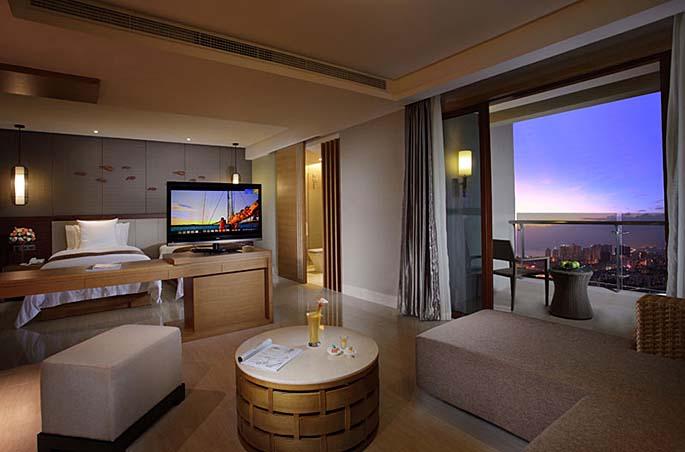 三亚凤凰水城凯莱度假酒店设计套房