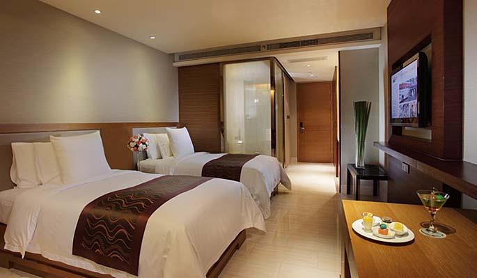 三亚凤凰水城凯莱度假酒店设计套房3