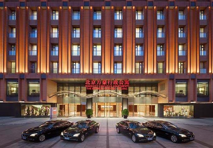 北京万豪行政公寓酒店设计项目