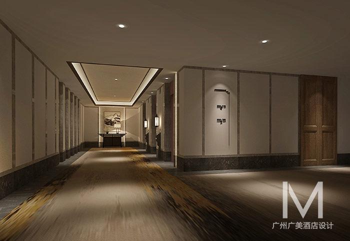 中式风格酒店客房设计效果图-木饰主题