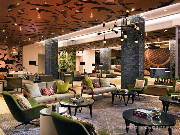 酒店设计案例之四 威斯汀奥斯汀市中心