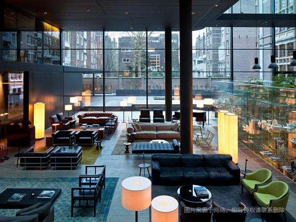 酒店设计案例之七 Conservatorium 酒店,博物馆广场,阿姆斯特丹