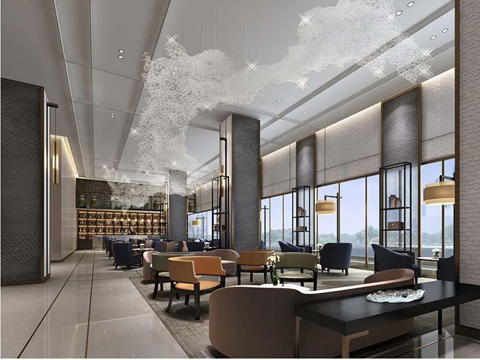 广州宾馆空间设计